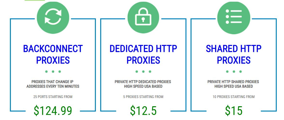 Http Proxies